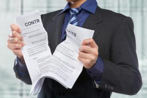 incumplimiento de contrato de alquiler por parte del arrendador